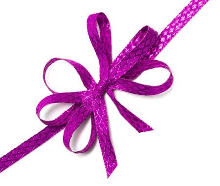 ribbon isolated on white background  Stock Photo - 7442616