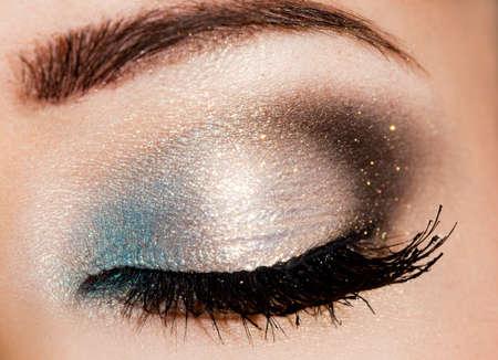 close-up of beautiful womanish eye Stock Photo - 7442621