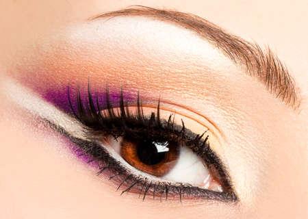 Close-up of hermoso ojo