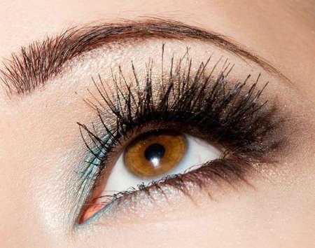 close-up of beautiful womanish eye Stock Photo - 7642084