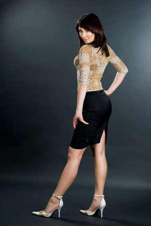 portrait of beautiful Asian woman Stock Photo - 7781379