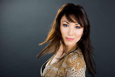 portrait of beautiful Asian woman Stock Photo - 7953677