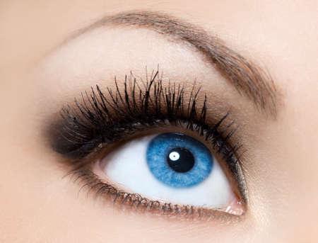 close-up of beautiful womanish eye Stock Photo - 8189775
