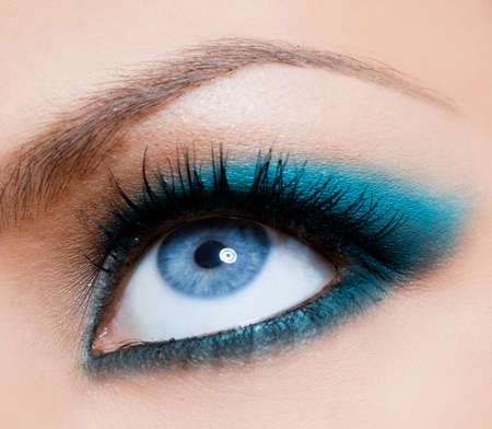 close-up of beautiful womanish eye Stock Photo - 8393247