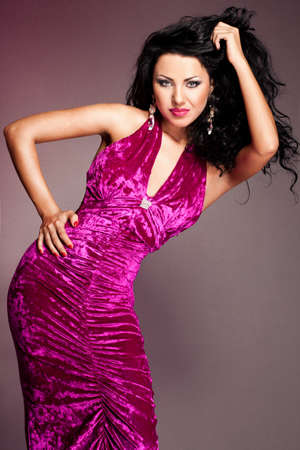 Portrait of elegant fashionable woman Stock Photo - 9110858