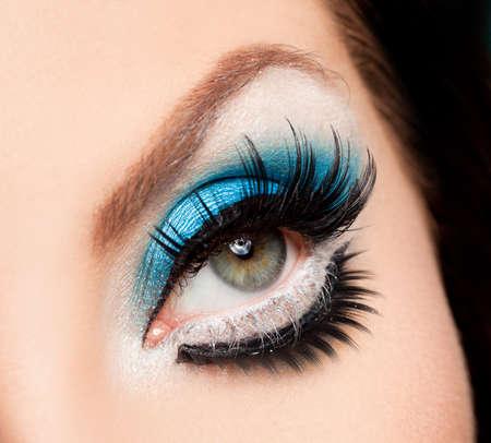 close-up of beautiful womanish eye Stock Photo - 9730532