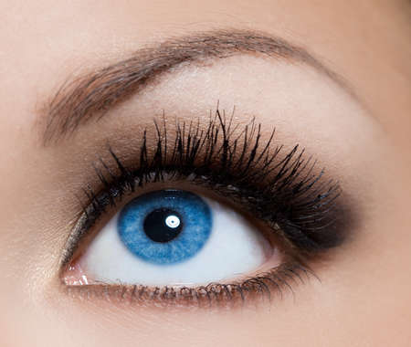 close-up of beautiful womanish eye Stock Photo - 9981601