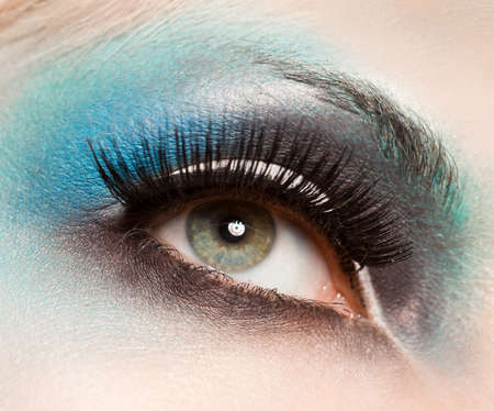close-up of beautiful womanish eye Stock Photo - 10966889