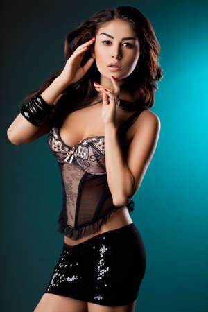 elegant fashionable woman in underwear Stock Photo - 11455451