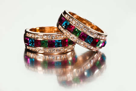 Close-up of  rings or bracelets photo