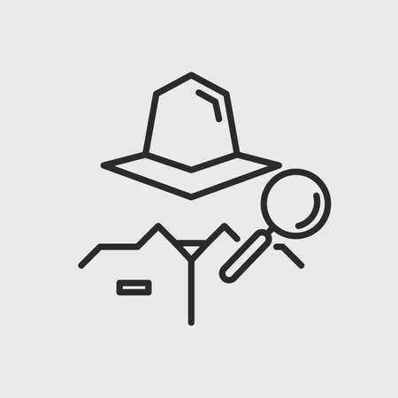 Anonymous vector icon. Hidden user icon. Vector illustration