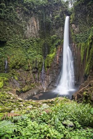 costa rican: Catarata del Toro Waterfall of the Bull Waterfall in the Costa Rican jungle