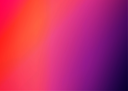 Colorful Sunset Blurred Vector Background.Red Orange Blues Gradient Mesh