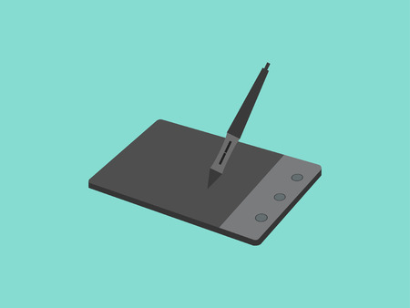 Stylus and graphic tablet