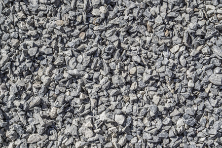 crushed: Crushed grey stone texture background, Rock texture