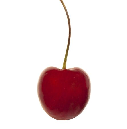 sweet red cherry isolated on the white background  Stock Photo - 7134434