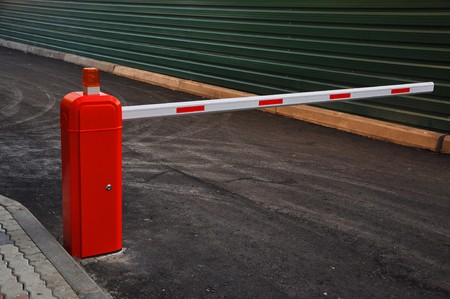 barrier: striped automatic barrier partitioning on the road