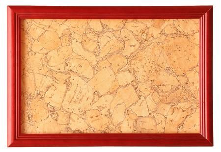 wooden photo frame isolated on white background Stock Photo - 8229268