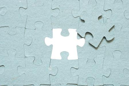 missing piece: Gris puzzle con la pieza que falta