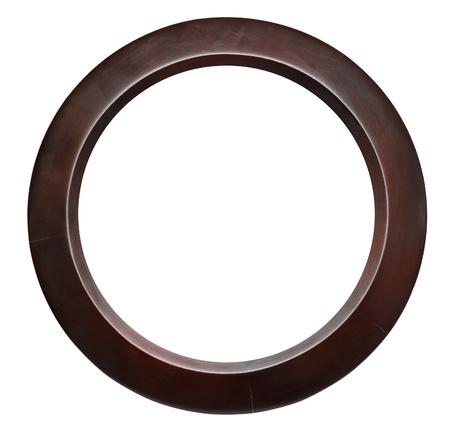 Round flame isolated on white Stock Photo - 9597551