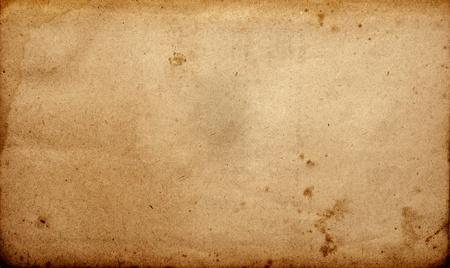 wrinkled paper: Grunge vintage old paper sheet   Stock Photo
