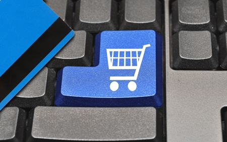 The button for purchases on the keyboard  Stock Photo - 10319508