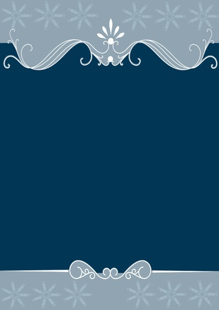 Vector Ornate Wedding Frame Vector