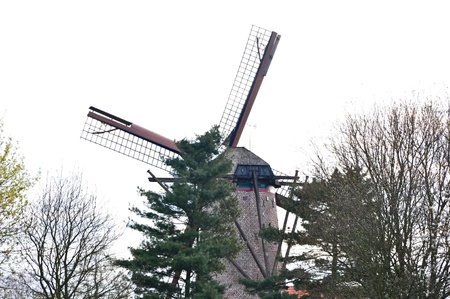 traditional windmill: close up traditional windmill