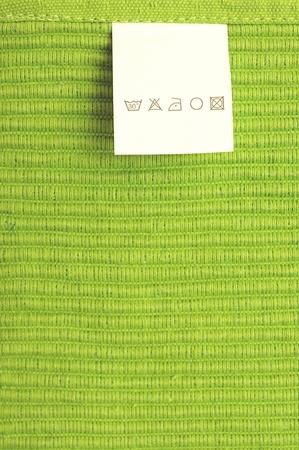 blank and empty fashion label for a text message  photo