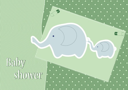 cute baby shower design  vector illustration Vector