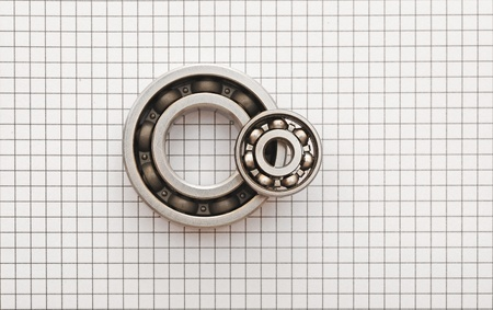 Two ball bearings  photo