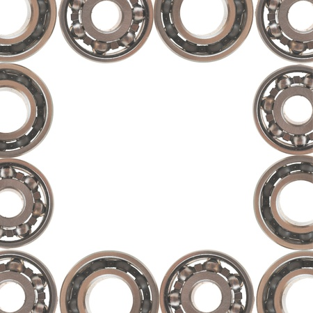 ball bearing, isolated on white background  photo