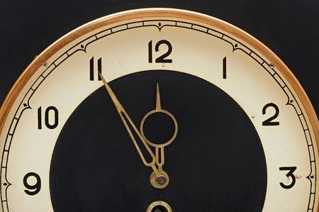 Muur retro klok