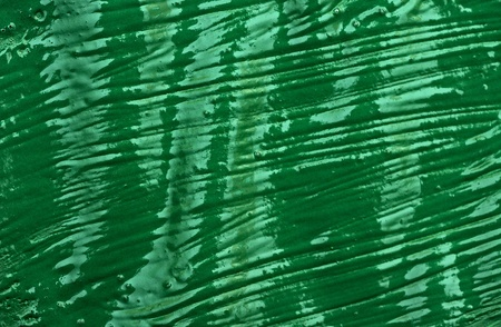 Abstract green watercolor hand painted background  photo