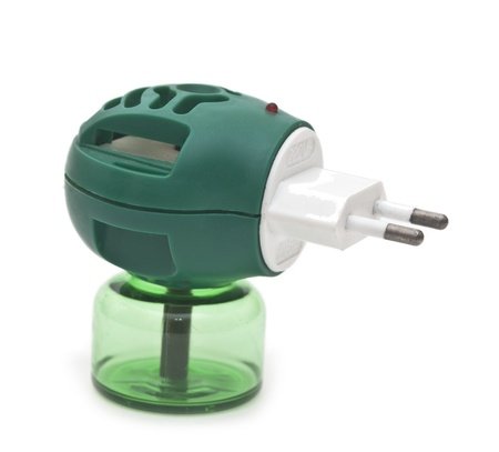 repellant: Anti-mosquito fumigator  Stock Photo