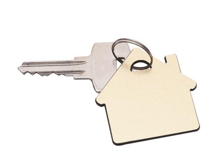 house key: house key isolated on white Stock Photo