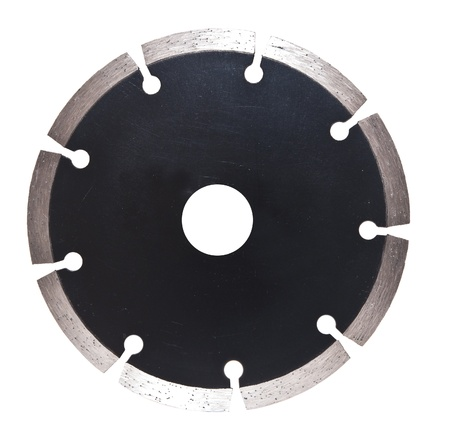 segment disc for metal and stone grinding, cutting.  photo