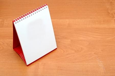 almanak: leeg bureaublad kalender