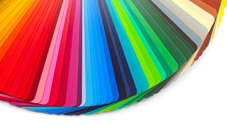 color guide closeup  photo