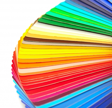 Campioni di colore Archivio Fotografico - 15387411