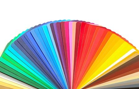 Colorato design campione tavolozza guida spettro grafico Archivio Fotografico - 15387424