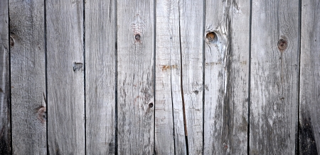Close up of gray wooden fence panels Stock Photo - 15778847