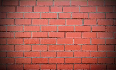 Brick wall red  Stock Photo - 15778844