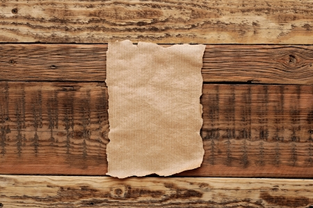 old papers on wood textures background Stock Photo - 16183166