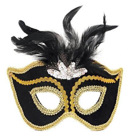 Carnival mask isolated on white background Stock Photo - 16607531