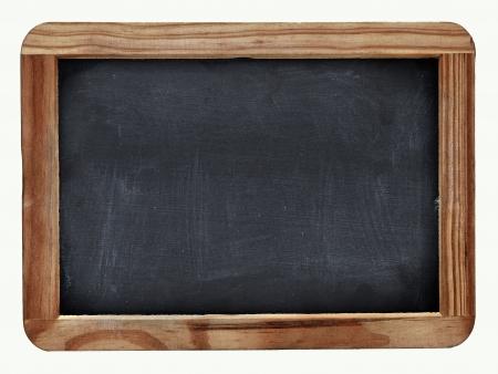 School blackboard on white