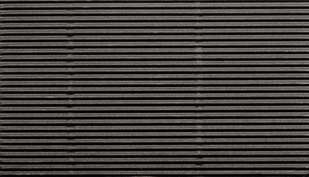 Black corrugated cardboard background.  Stock Photo - 17526626