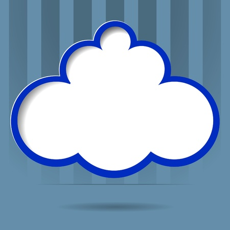 cloud for your text,illustration  Vector