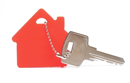 House shaped keychain