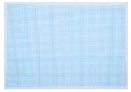 Green A Grid Or Graph Paper With White Maths Background Stock Photo